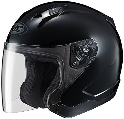HJC CL-Jet Black Open Face Helmet X-Large