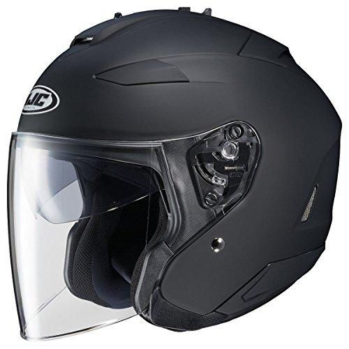HJC IS-33 II Matte Black Open Face Helmet - 2X-Large