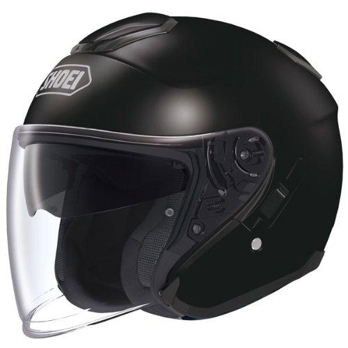 Shoei J-Cruise Black Open Face Helmet - Medium