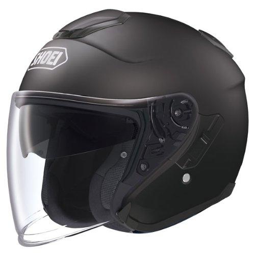 Shoei J-Cruise Matte Black Open Face Helmet - Small