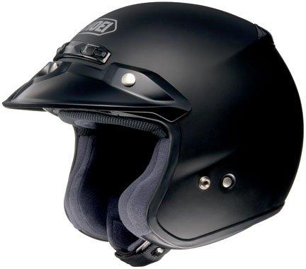 Shoei RJ Platinum-R Matte Black Open Face Helmet M