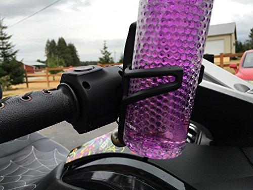 Can Am Spyder RT ST F3 2010 2011 2012 2013 2014 2015 2016 Handlebar Drink Beverage Holder Spyder2Go