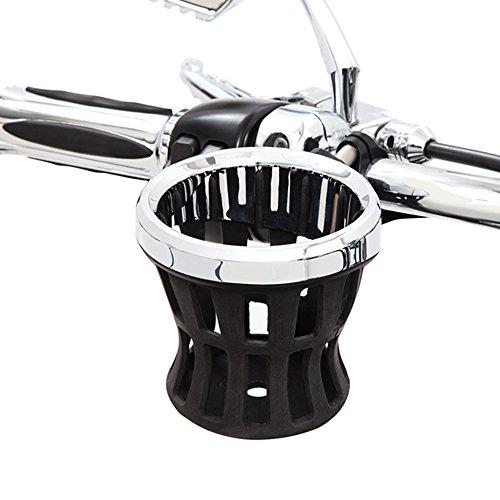 Ciro 50413 Drink Holder Black Mount For Harley-Davidson Models