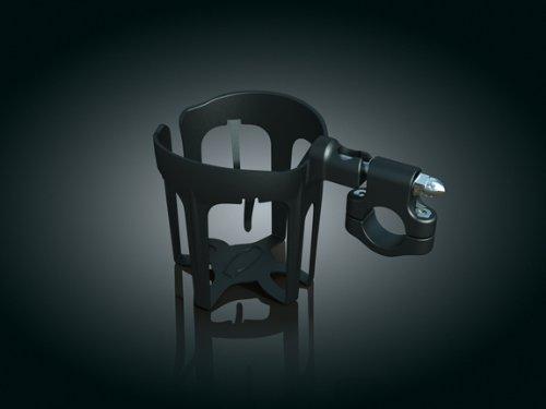 Kuryakyn 1487 Snap-N-Go™ Drink Holder With Universal Bracket For Harley-Davidson