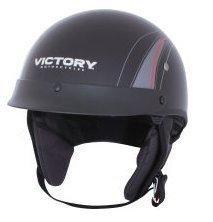 Victory Motorcycle Half Hemlmet 2 Open Face- Medium