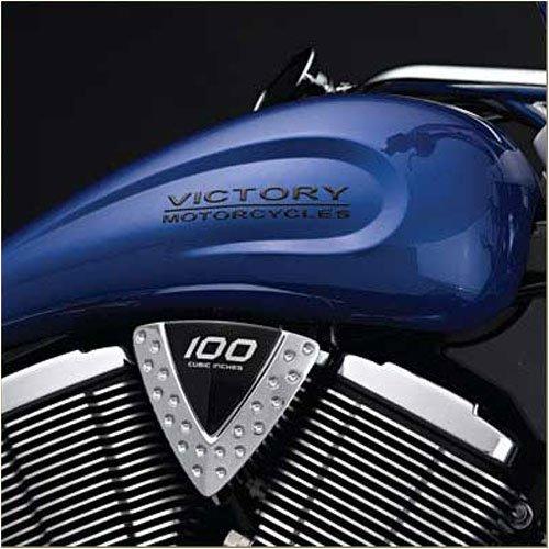 Victory Motorcycles Black Victory Tank Logos
