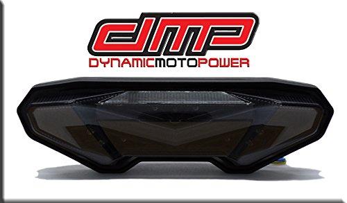 2014-2016 Yamaha FZ09 2017 Yamaha FZ10 2018 Yamaha MT-10 Smoked Integrated LED Tail Light
