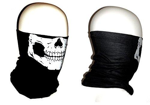 Skull Tube Face Mask Motorcycle Tubular Skeleton Biker Snowboard Neck Gaiter Stretchable Wind Bugs Dust Shield