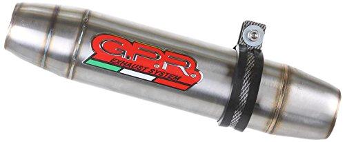 HONDA CBR 600 F - Sport 200107 con sonda STREET LEGAL SLIP-ON EXHAUST SYSTEM GPR DEEPTONE INOX