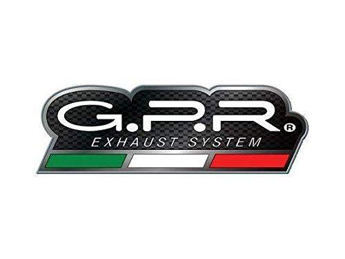 HONDA CBR 600 F - Sport 200107 con sonda STREET LEGAL SLIP-ON EXHAUST SYSTEM GPR GPE EVO TITANIUM