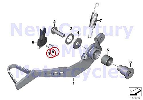 BMW Genuine Motorcycle Brake Pedal Grooved Drive Stud R nine T R1200R S1000RR F700GS F800GT F800GS F800R F800GS Adventure