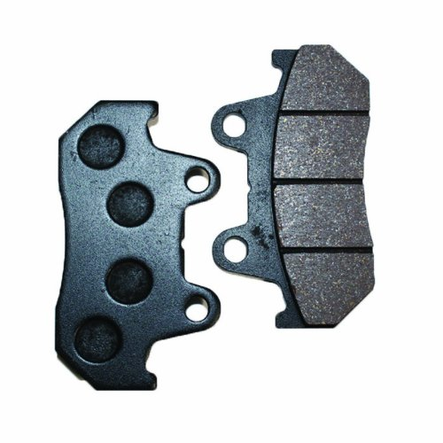 Caltric Rear Brake Pads Fits HONDA GL1500 GL1500A GL1500I GL1500SE GOLDWING Rear Brakes 1988-2000