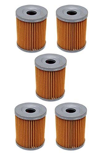 Factory Spec FS-701 Suzuki Quadrunner 160 230 250 Arctic Cat Utility 250 300 Oil Filter 5 Pack