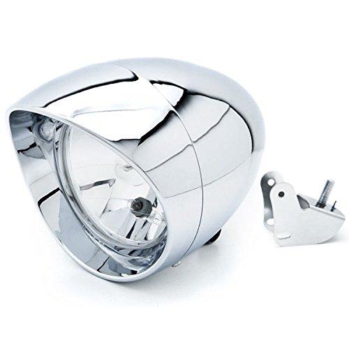 Krator Motorcycle Custom Chrome Headlight Head Light For Honda Gold Wing Goldwing 1200 1500 1800