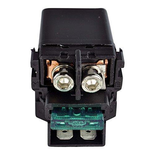 Starter Relay Solenoid For Honda CBR 600 900 1000 1100 GL 1200 Goldwing TRX 450 Fourtrax Foreman VTX 1800 1985-2018 OEM Repl 35850-MAH-000 35850-MT4-000