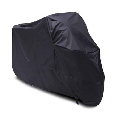 Black Motorcycle Cover For Honda Goldwing GL 1000 1100 1200 UV Dust Prevention XXL