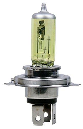 MOTORTOGO Golden Yellow Halogen Low Beam Headlight Bulb for 2004 HARLEY-DAVIDSON FXSTS Springer Softail