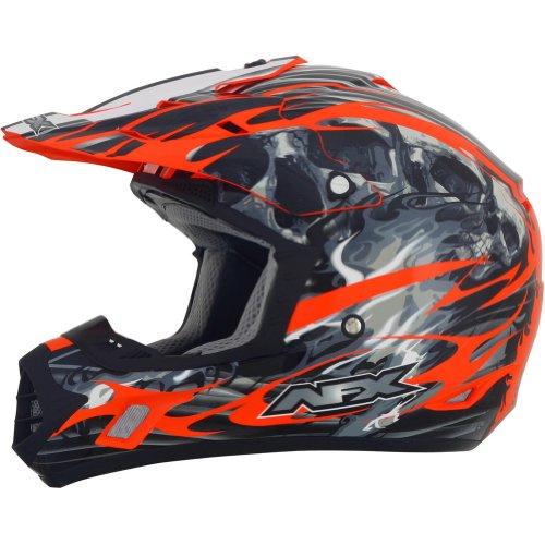 AFX FX-17 Inferno Helmet  Distinct Name Orange Gender MensUnisex Primary Color Orange Helmet Type Offroad Helmets Helmet Category Offroad Size 3XL 0110-3572