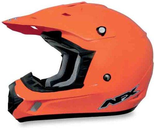 AFX FX-17 Solid Helmet  Size 2XL Distinct Name Safety Orange Helmet Type Offroad Helmets Helmet Category Offroad Primary Color Orange Gender MensUnisex 0110-3054