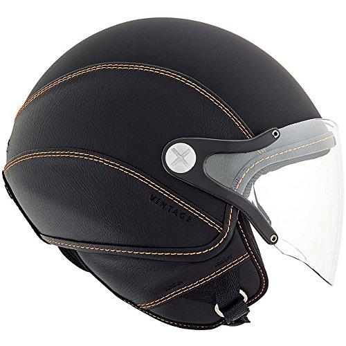 Nexx SX60 Vintage 2 Helmet - Black  Orange - S