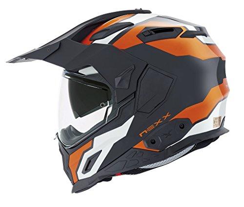 Nexx XD1 Baja Orange Helmet size X-Small