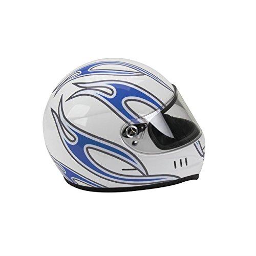 Orange Helmet Graphics Loud Pedal Glossy Easily Removable Racing
