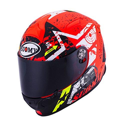 Suomy SR Sport Stars Orange Helmet size X-Large