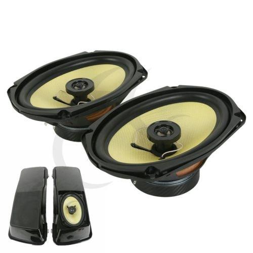 TCMT 6 x 9 Speaker For Harley Davidson Touring Models Saddlebag Lid 1994-2013