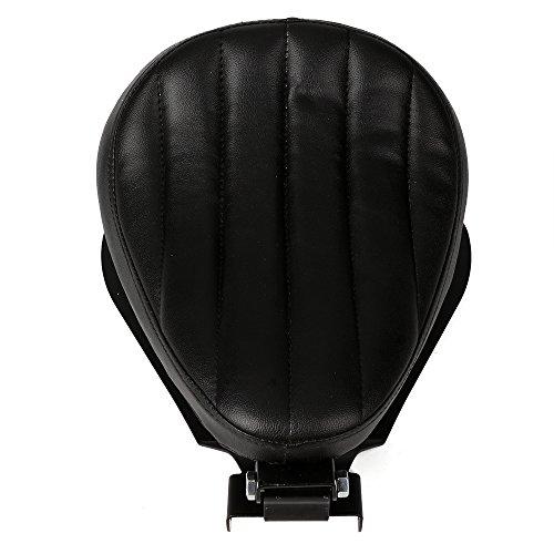 NEVERLAND 122 inch Leather Stripe Solo Spring Bracket Seat Base for Harley Fat Bob 48 72