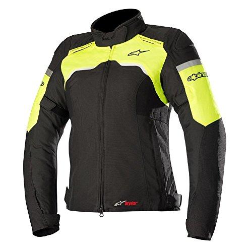 Alpinestars Stella Hyper Drystar Textile Womens Motorcycle Jackets - BlackHi-Vis - 2X-Large