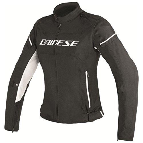 Dainese D-Frame Womens Motorcycle Jacket BlackBlackWhite 46 Euro