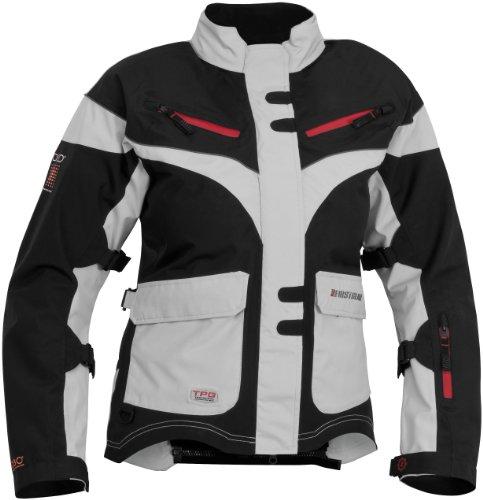 Firstgear TPG Monarch Womens Motorcycle Jacket BlackSilver X-Small