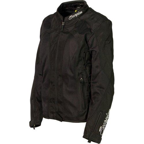 Scorpion Nip Tuck II Vented Womens Motorcycle Jacket - Black X-Large