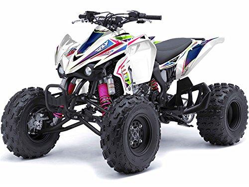 Senge Graphics 2007-2016 Kawasaki KFX 50 Surge Pink Graphics Kit