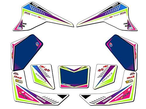 Senge Graphics All Years Kawasaki KFX 80 Surge Pink Graphics Kit