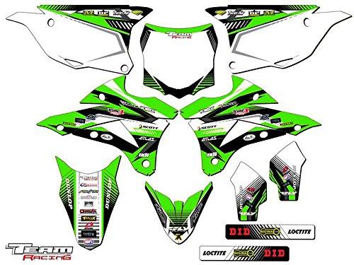 Team Racing Graphics kit for 2014-2017 Kawasaki KX 85100 ANALOG Complete Kit