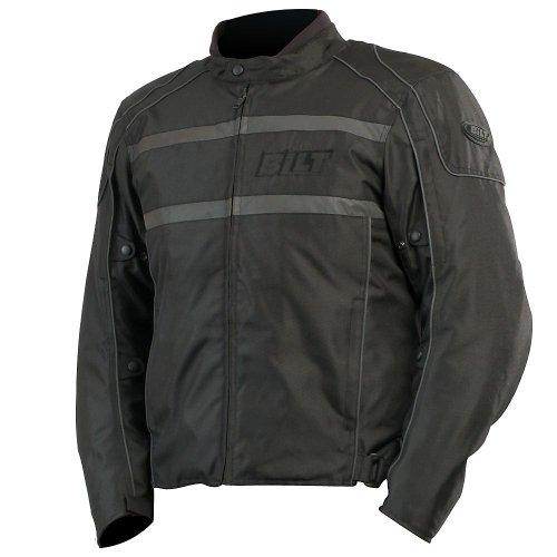 CUSTOM BILT Shadow Waterproof Textile Motorcycle Jacket - 4XL Black