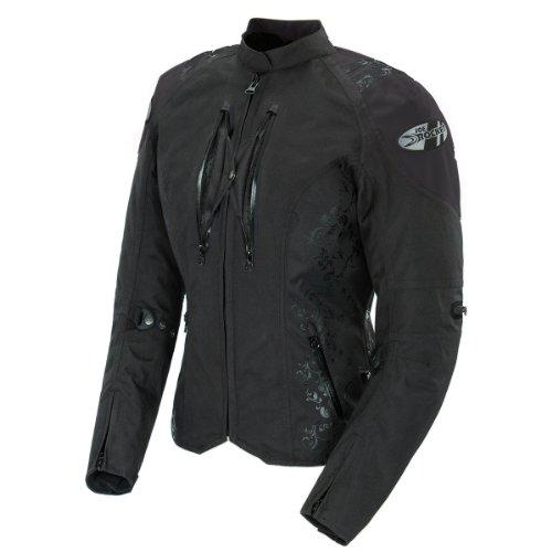 Joe Rocket Atomic 40 Womens Black Textile Motorcycle Jacket - 2X-Large