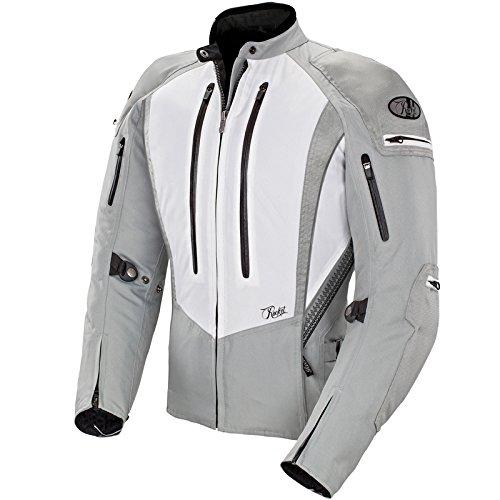 Joe Rocket Atomic 50 - Womens Textile Motorcycle Jacket - WhiteSilver - Small