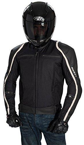 Joe Rocket Comet Mens Textile Motorcycle Jacket BlackBlack X-Large