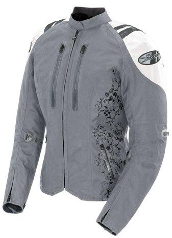 Joe Rocket Ladies Atomic 40 Textile Motorcycle Jacket White S