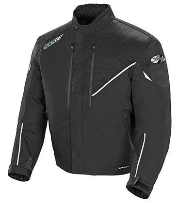 Joe Rocket Mens Alter Ego 41 Textile Motorcycle Jacket Black Tall XX-Large