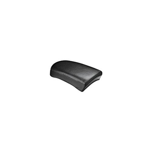 Le Pera Bare Bones 7 Inch Pillion Seat Smooth Black for H-D FLST FXST 2000-2007