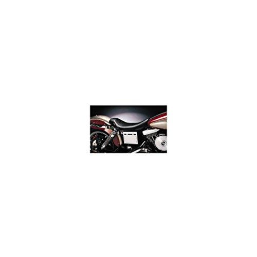 Le Pera Bare Bones Solo Vinyl Seat for 1991-2010 Harley Davidson Dyna Models - HD FXDWGI Dyna Wide Glide 1996-2003
