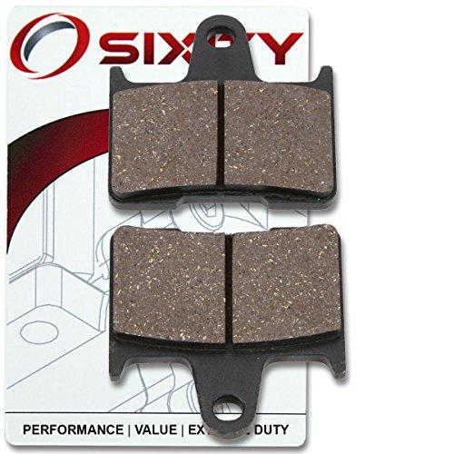 Sixity Rear Organic Brake Pads 2014-2015 Harley Davidson XL883N Iron 883 Set Full Kit Sportster Cast Wheel Complete
