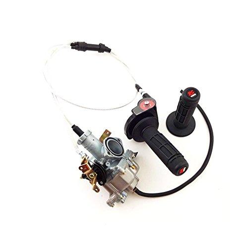TC-Motor 30mm Carburetor  Throttle Hand Grips  Twist Throttle  Throttle Cable Set For 200cc 250cc Engine Dirt Bike Motorcycle IRBIS TTR 250