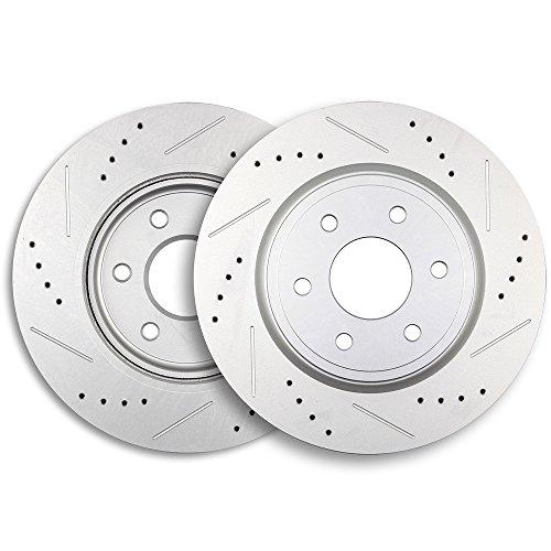 ECCPP 2pcs Front 296 mm Discs Brake Rotors Brake Kit for 2005-2015 Nissan Frontier2005-2012 Nissan Pathfinder2005-2013 Nissan Xterra2009-2012 Suzuki Equator