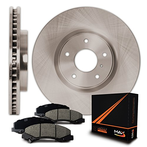 Max KT041041 Front Premium OE Replacement Rotors and Ceramic Pads Combo Brake Kit WILL NOT FIT 2012 HONDA CR-V FWD