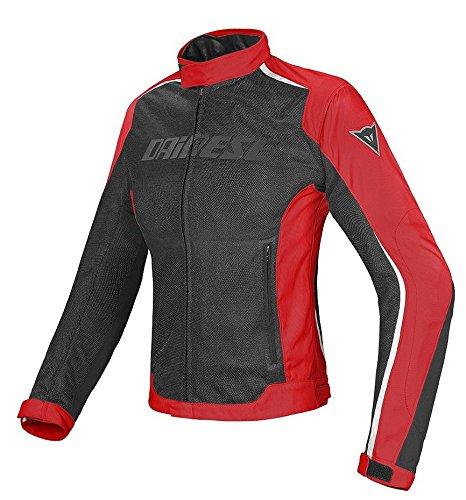 Dainese Hydra Flux D-Dry Womens Textile Jacket BlackBlackWhite 42 Euro4 USA