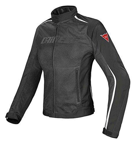 Dainese Hydra Flux D-Dry Womens Textile Jacket BlackBlackWhite 46 Euro8 USA